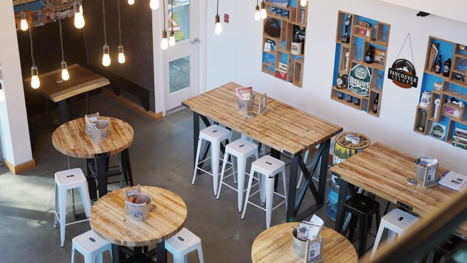 Vancouver Island Brewing space