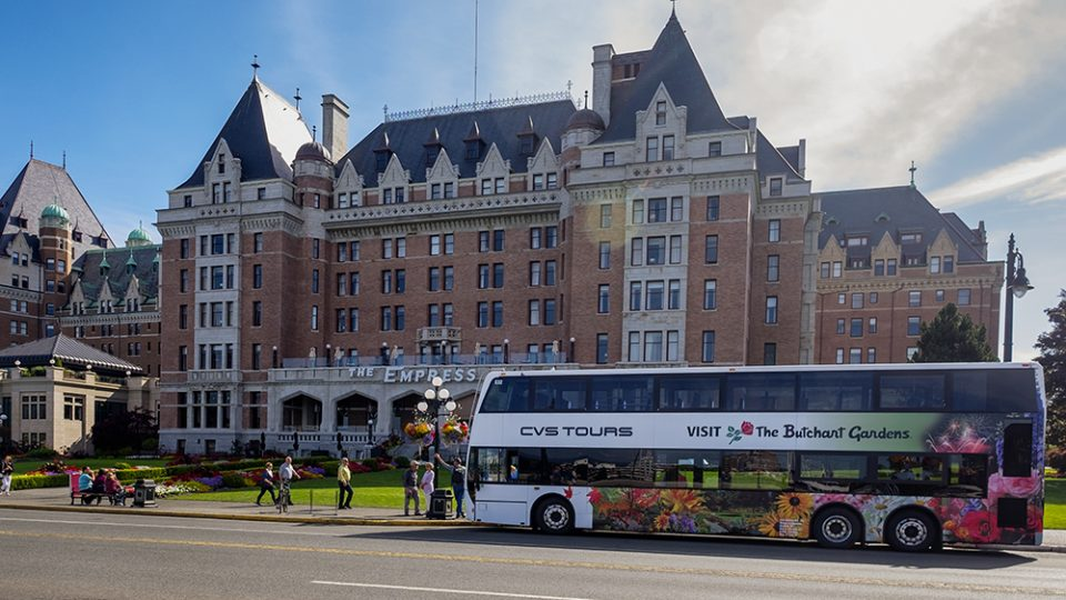 Be a Tourist in Your Own Town - Butchart Gardens Transportation Guided Tour CVS