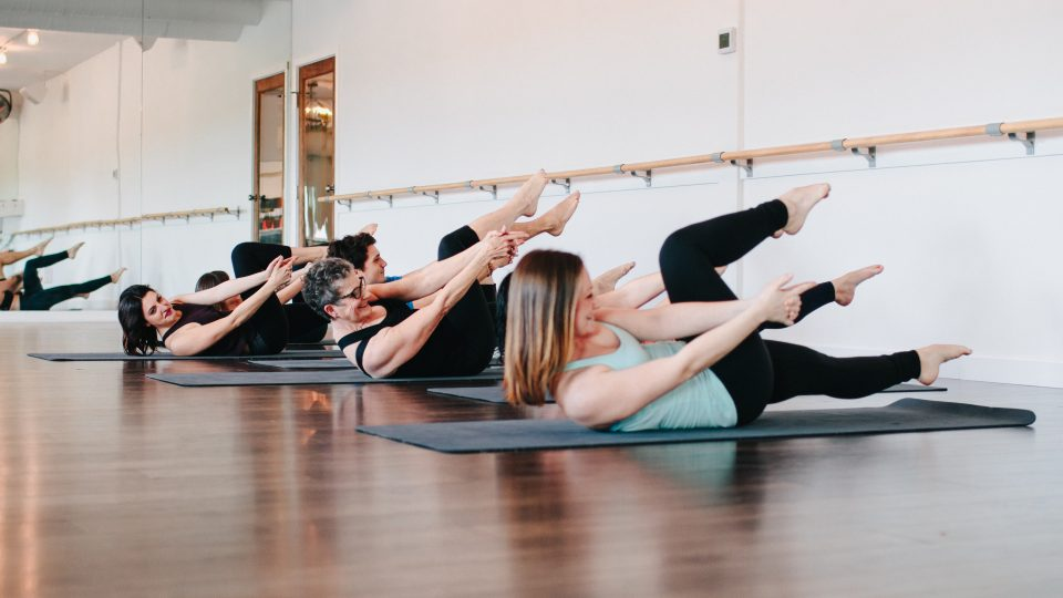 students having class in Alive Mindbody