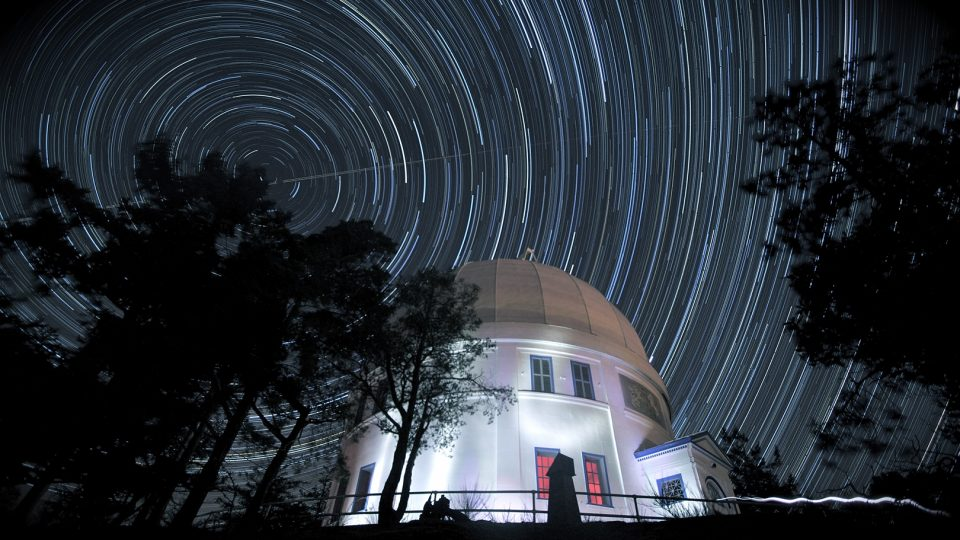 Friends of the Dominion Astrophysical Observatory night shot