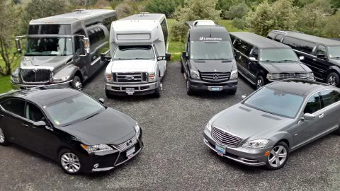 Cars and limousines of L.A. Limousines
