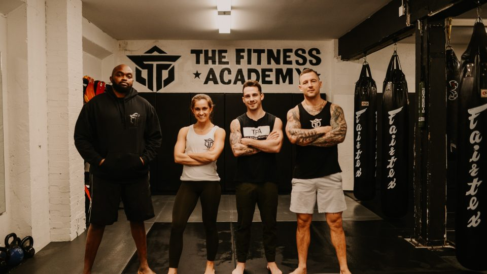 Boxers in The Fitness Academy