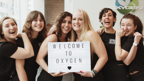Oxygen Yoga and Fitness Victoria Crew